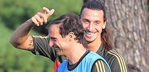 Tra Ibrahimovic e Allegri è tornato il sereno. Ansa