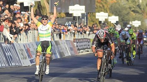 la gioia di Simon Gerrans. Bettini
