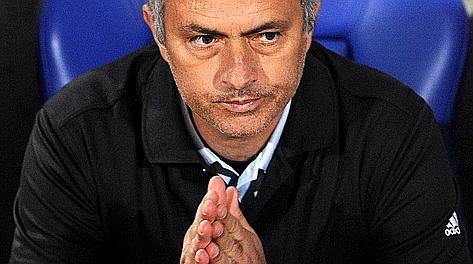 Josè Mourinho, tecnico del Real Madrid. LaPresse