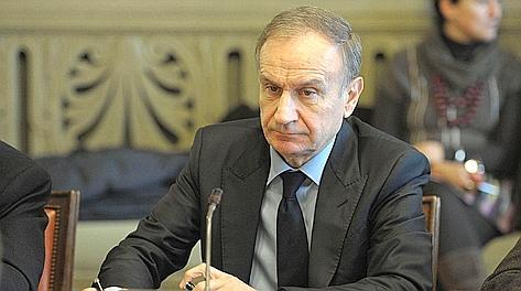 Gianni Petrucci, presidente del Coni. LaPresse