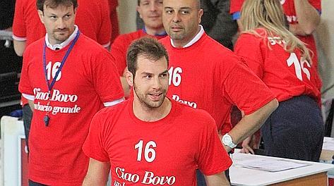 Travica e lo staff di Macerata ricordano Vigor Bovolenta. Legavolley