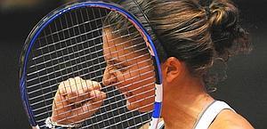 Sara Errani, 24 anni, trionfa a Barcellona. Afp