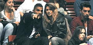 Kevin Prince Boateng con la fidanzata, Melissa Satta.