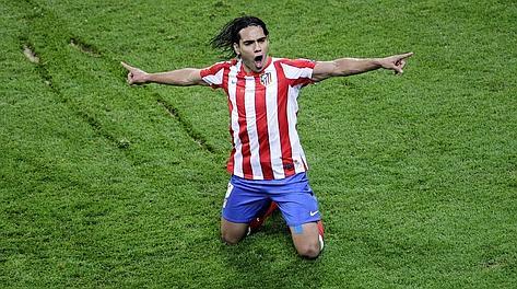 Radamel Falcao, 26 anni, capocannoniere di Europa League per la seconda volta. Ap