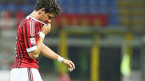 Alexandre Pato, solo un gol in serie A quest'anno. LaPresse