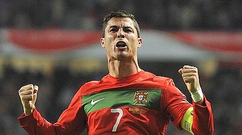 Cristiano Ronaldo cerca il successo con la nazionale dopo aver vinto la Liga. Afp