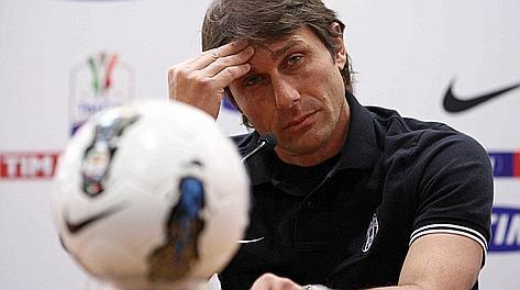 L'allenatore della Juventus Anonio Conte. LaPresse