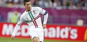 Uno dei gol falliti contro la Danimarca. LaPresse
