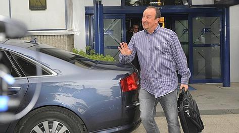 Rafa Benitez, 52 anni, ha allenato l'Inter nel 2010. Bozzani