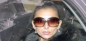 La pornostar Lucia Rizzo, in arte Rachele. Archivio