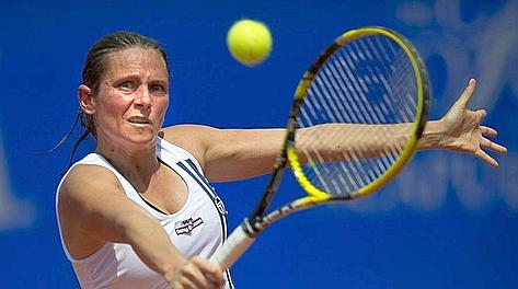 Roberta Vinci, bene contro la Niculescu. Epa