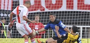 Il secondo gol di Trezeguet. Afp
