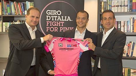 Da sinistra: Michele Acquarone, Ioris Francini e Giacomo Catano