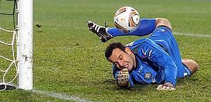 Samir Handanovic, 27 anni: dall'Udinese all'Inter? Afp