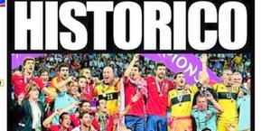 la prima pagina del quotidiano spagnolo El Mundo Deportivo