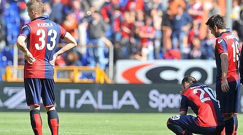 Per il Genoa la stagione 2011-12 è stata difficile. Ansa