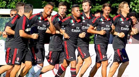 I superstiti rossoneri.