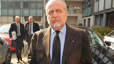 Aurelio De Laurentiis, 63 anni, non ha perso la sua verve polemica. Lapresse