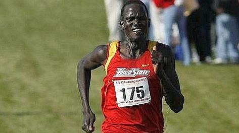 Guor Marial, maratoneta del Sudan del Sud.