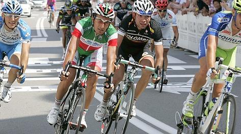 Il campione italiano Franco Pellizotti, 34 anni. Bettini