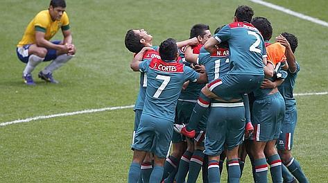 La festa del Messico per una medaglia storica. Reuters