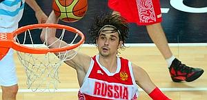 Alexei Shved a canestro. Afp