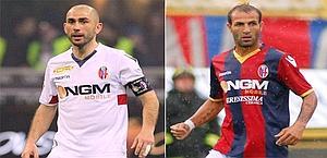 Marco Di Vaio, 36 anni, e Daniele Portanova, 33. Forte/Ansa