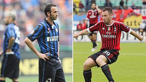 Antonio Cassano, 30 anni e Giampaolo Pazzini, 28. Gasport