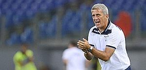 Vladimir Petkovic, primo anno alla Lazio. Lapresse