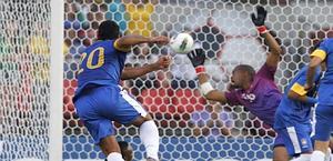 Il gol di Hulk al 29' del secondo tempo. Reuters