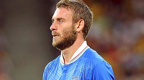 Daniele De Rossi, k.o. contro la Bulgaria. Forte