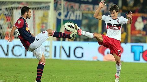 Bojan Krkic contro il Bologna. Ansa