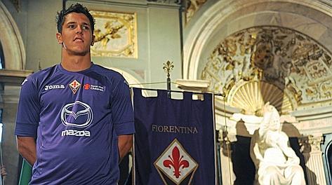 Stevan Jovetic, 22 anni, stella della Fiorentina. Ansa