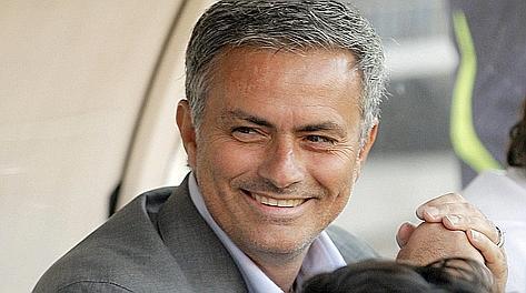 José Mourinho, tecnico del Real Madrid dal 2010. Ansa