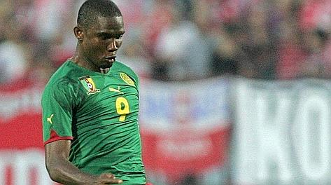 Samuel Eto'o, 31 anni, capitano perdente a Yaoundè. Epa