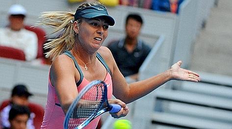 Maria Sharapova, 25 anni, 27 titoli Wta in carriera. Afp