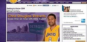 La pagina di Nba.com