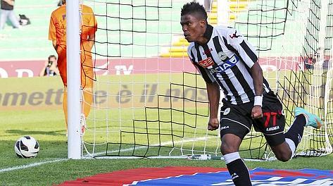 Maicosuel, decisivo contro il Pescara. LaPresse