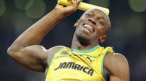 Usain Bolt, tre ori a Londra 2012. Ap
