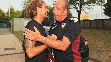Alessio Cerci Abbraccia Giampiero Ventura Da Neo Giocatore Del Toro