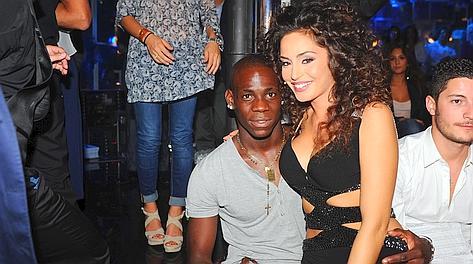 Mario Balotelli, 22 anni, e Raffaella Fico, 24