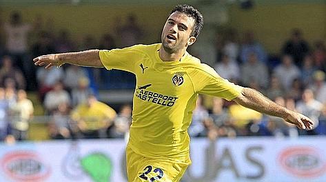 Giuseppe Rossi ha giocato al Villarreal 5 stagioni. Ansa