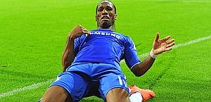 Didier Drogba, nel suo futuro c'è sempre l'Italia. Ansa