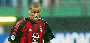 Rivaldo ai tempi del Milan. Ap