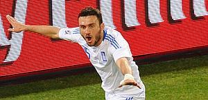 Vasilis Torosidis, Olympiakos e nazionale greca. Afp