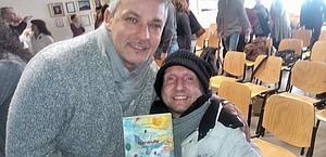 Murari, con Robi Baggio