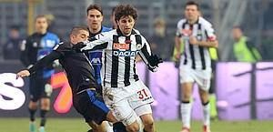 Diego Fabbrini, in uscita dall'Udinese. LaPresse