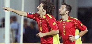 Jovetic con la maglia del Montenegro. Reuters