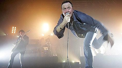 Jim Kerr, 53 anni, leader dei Simple Minds. Ansa