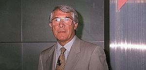 Omar Sivori, morto nel 2005, ex calciatore e tecnico. Fotogramma